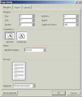 Cara Merubah Ukuran Inci ke Centimeter di Microsoft Word