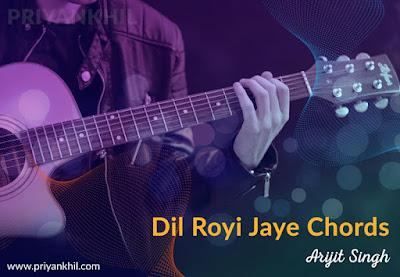 Dil Royi Jaye Chords