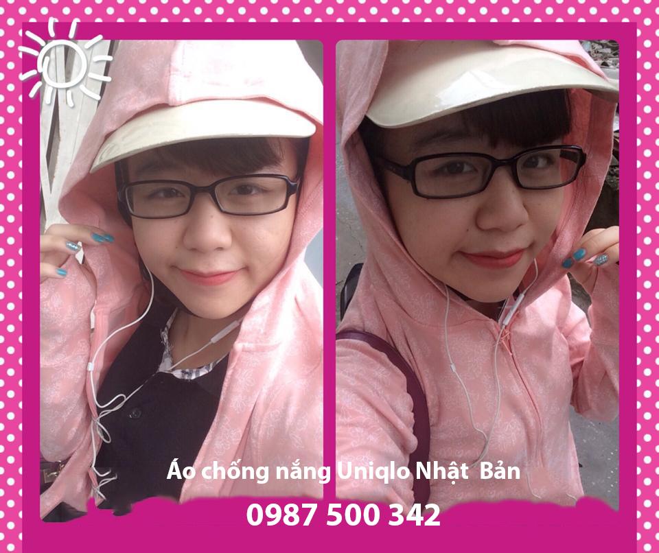 Bán áo chống nắng Uniqlo Nhật, áo chất liệu AiRism chống tia UV CUT 0987 500 342