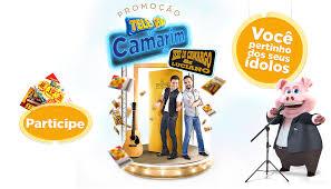 Promoção Tele-Sena no Camarim do Zezé Di Camargo e Luciano