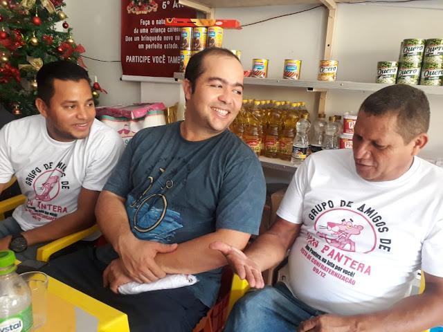 """Os """"Amigos do Ivan Pantera"""" se confraternizaram ontem!!!"""
