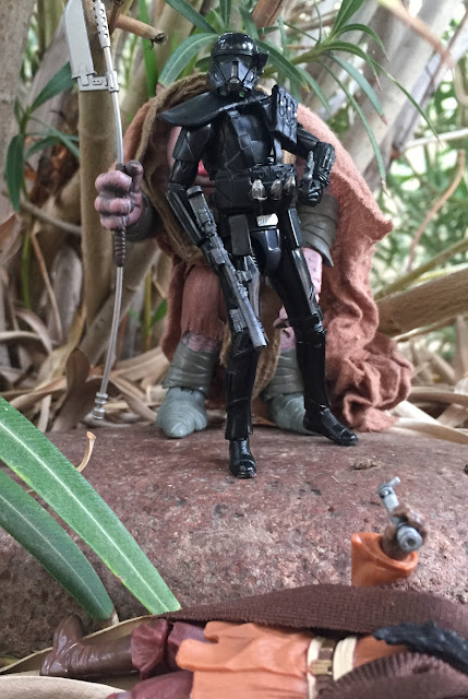 3.75 Black Series Death Trooper, Wal Mart Exclusive, Hermi Odle, Sora Bulq, Star Wars, Rogue One