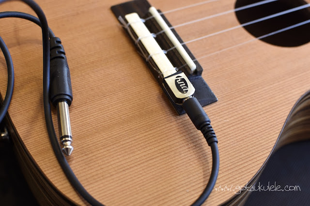Kremona UK-1 Ukulele pickup cable