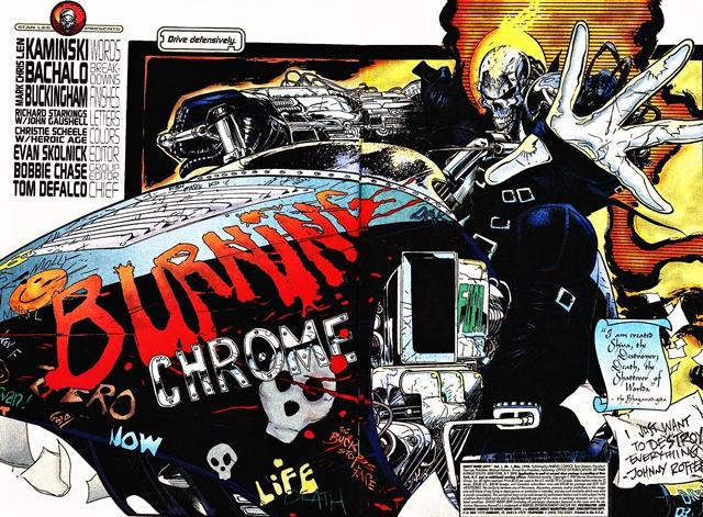 Un cómic del universo Marvel 2099