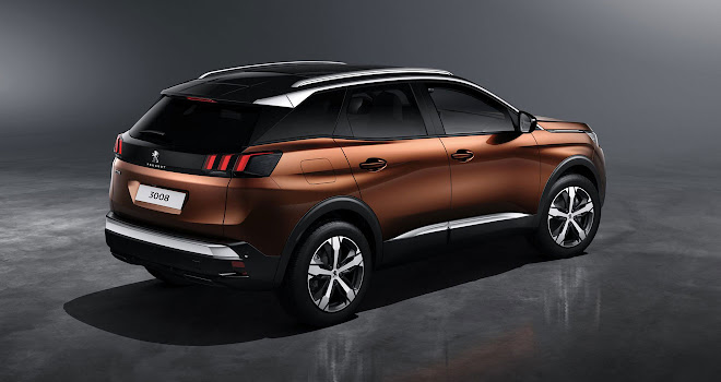 New Peugeot 3008 rear view