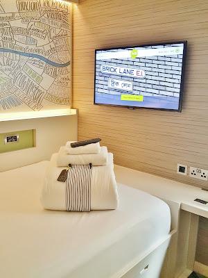 Hub by premier inn brick lane standard room review