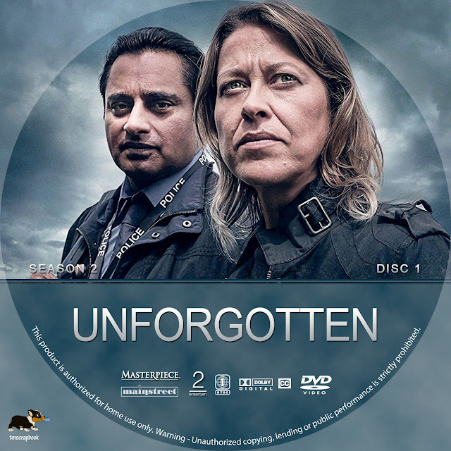 Unforgotten Season 2 Disc 1 DVD Label