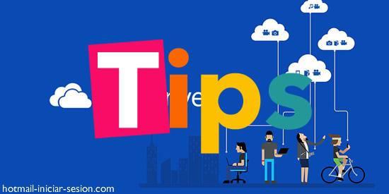 Tips para liberar espacio en OneDrive con hotmail iniciar sesion