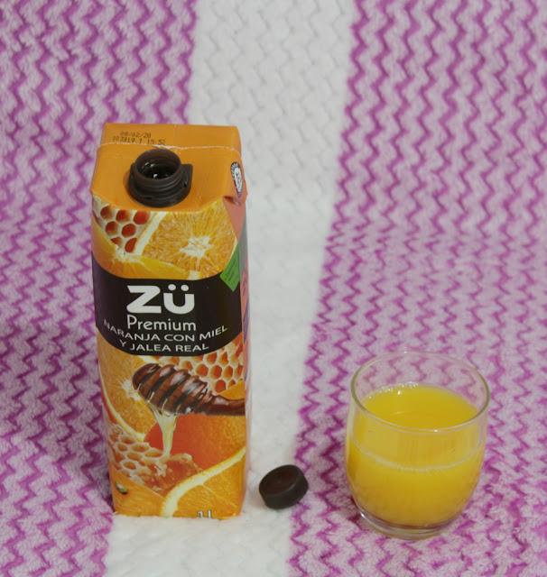 Zü Premium Naranja, Miel y Jalea Real
