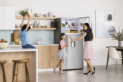 Keep Food Fresh up to 2x Longer with the Samsing Twin Cool Refrigerator