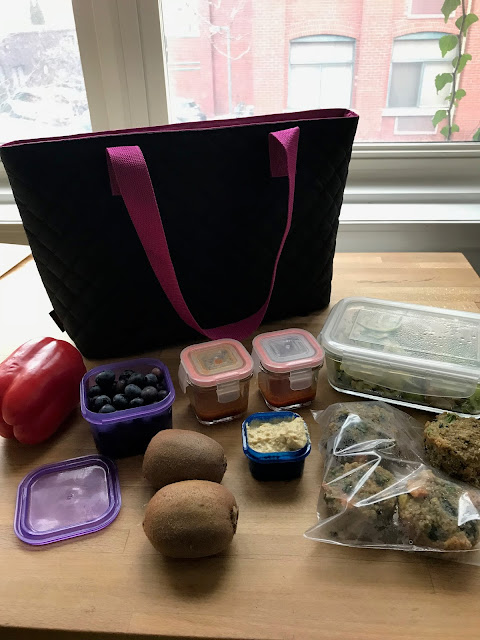 80 Day Obsession lunch packed