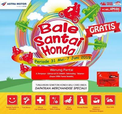 Bale Santai Honda 2019 Bali
