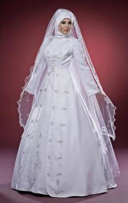 Contoh model gaun pengantin