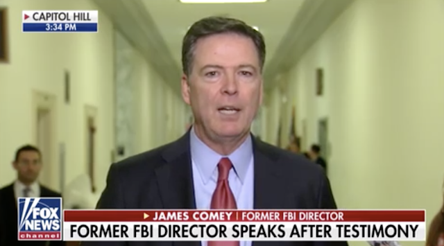 Defiant Comey lashes out at House GOP over 'frustrating' hearing