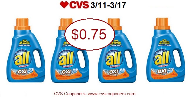 http://www.cvscouponers.com/2018/03/hot-all-laundry-detergent-only-075-at.html