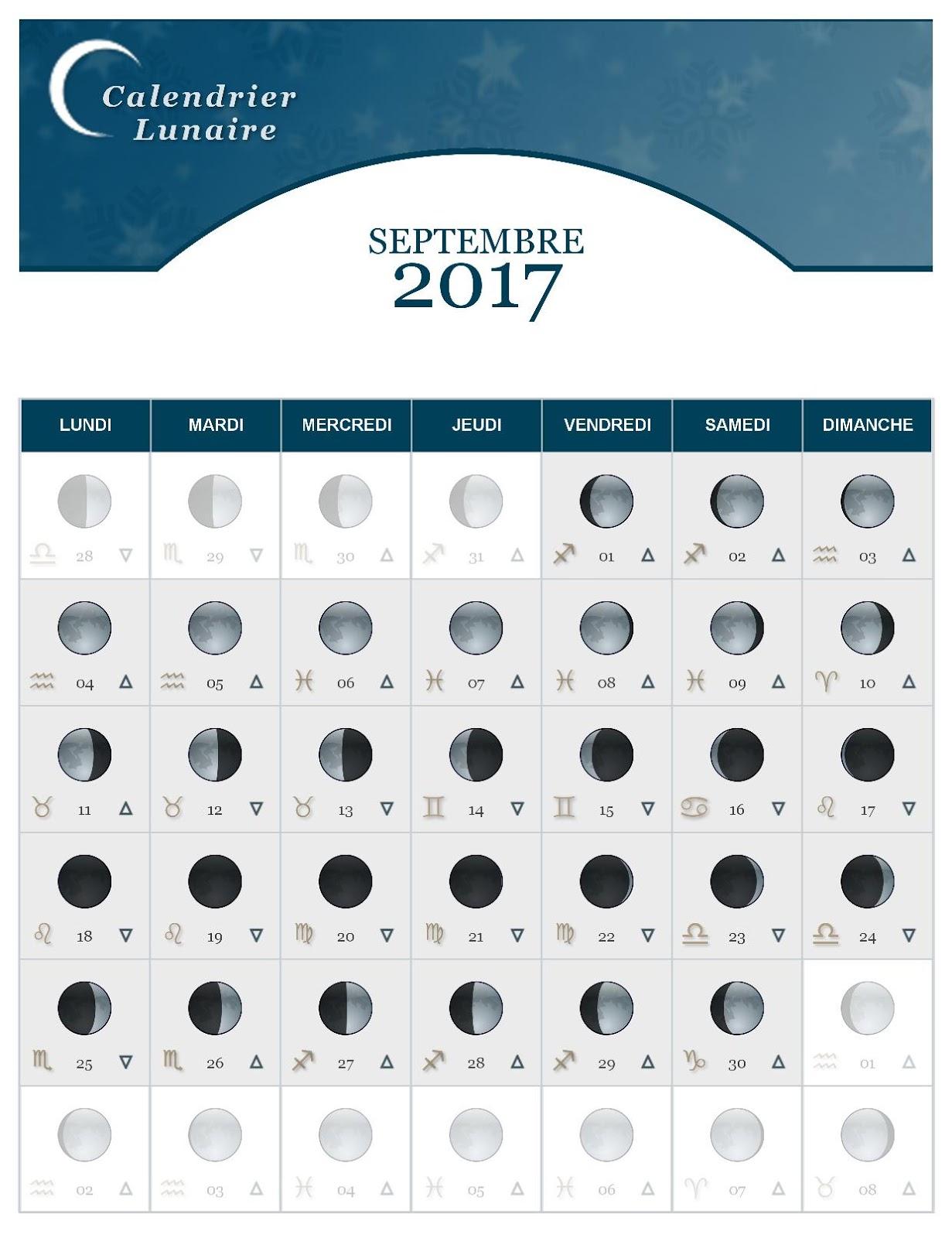 le journal d 39 ambronyx la lune dans tous ses tats septembre 2017. Black Bedroom Furniture Sets. Home Design Ideas