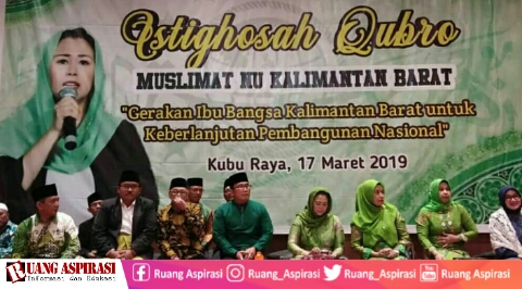 Hadiri Istighosah Qubro di Kalbar, Yenny Wahid Ajak Kaum Ibu-Ibu Tentukan Sikap Politik