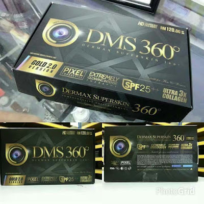 DMS360 : Dermax Superskin 360 Original (Set Asas)