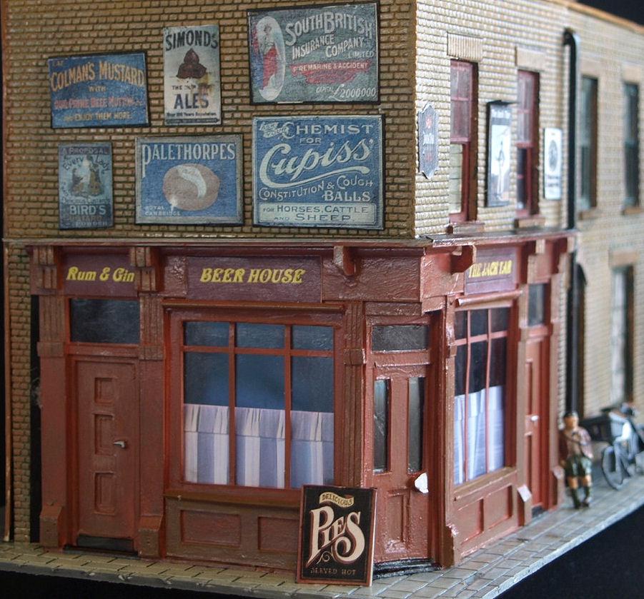 Jans model buildings the ripper connection berner street for 12 joy terrace malden ma