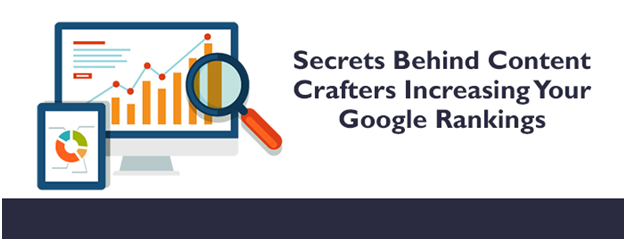 Secrets behind Content Crafters Increasing Your Google Rankings