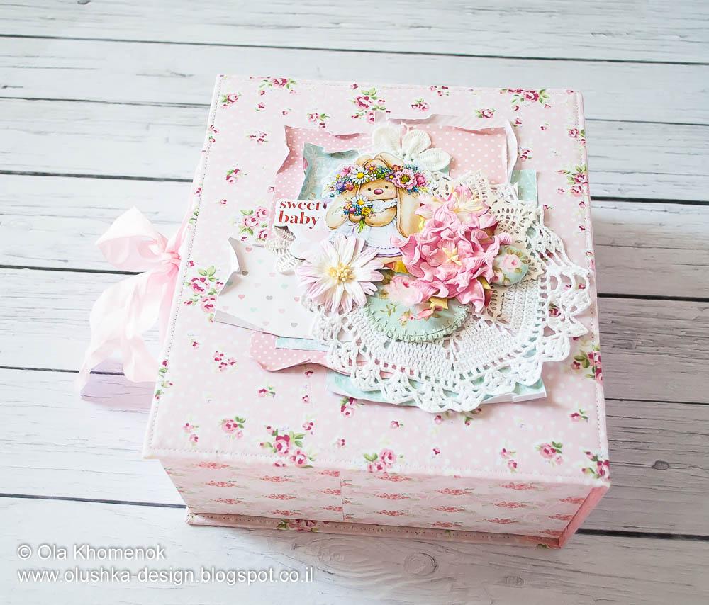 Likeartstudio By Ola Khomenok Baby Girl Sweet Album Cover Design