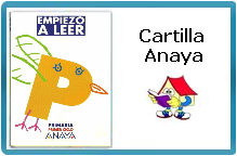 """CARTILLA DE LECTURA """"EMPIEZO A LEER"""" ANAYA"""