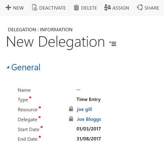 Project Service Automation - Delegation Ui And Sdk Gotchas