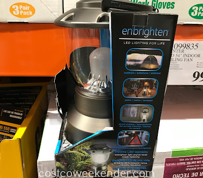 Costco 1650013 - Enbrighten LED Lantern: great for the outdoors, patios, power outages, emergencies