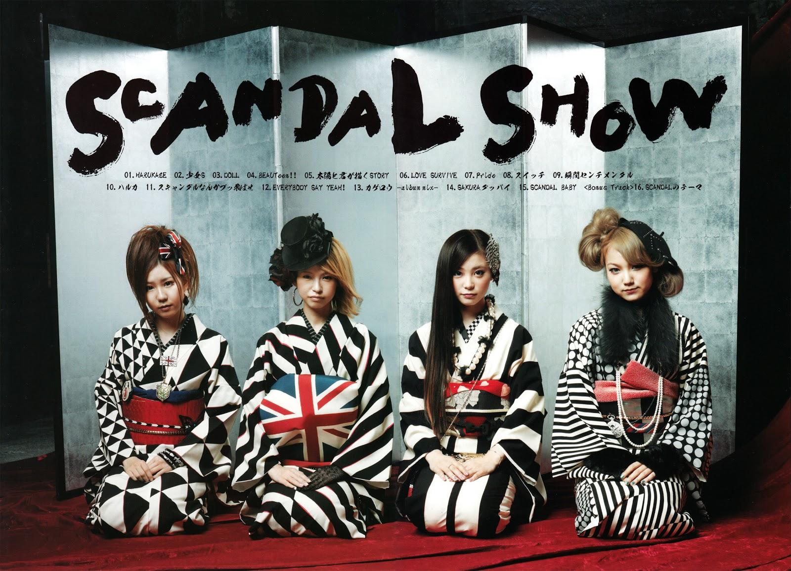 大注目 4人組ガールズバンドscandal スキャンダル のかわいい高画質な画像 壁紙 写真まとめサイト Pictas