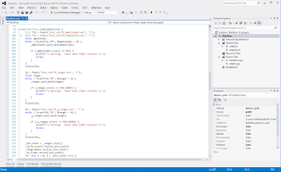 Visual Studio example screenshot