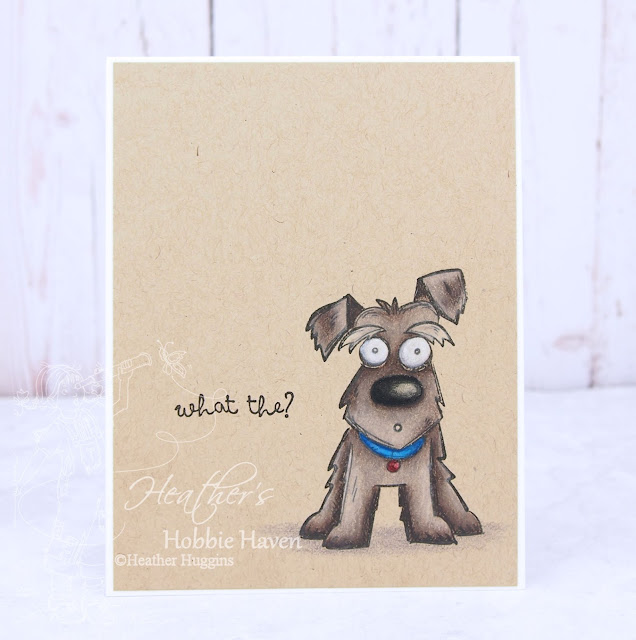 Heather's Hobbie Haven - Crazy Dogs Card