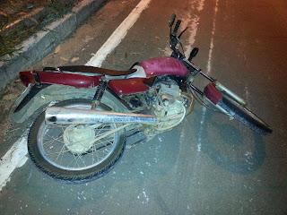 Dois jovens de São Vicente do Seridó sofrem grave acidente na PB 177