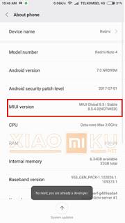 cara split screen xiaomi miui 8 taskbar - step 1