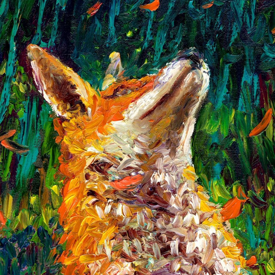 Iris Scott ~ Painting with fingers / hands | Tutt'Art ...