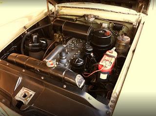 1951 Packard 300 Classic Sedan Engine