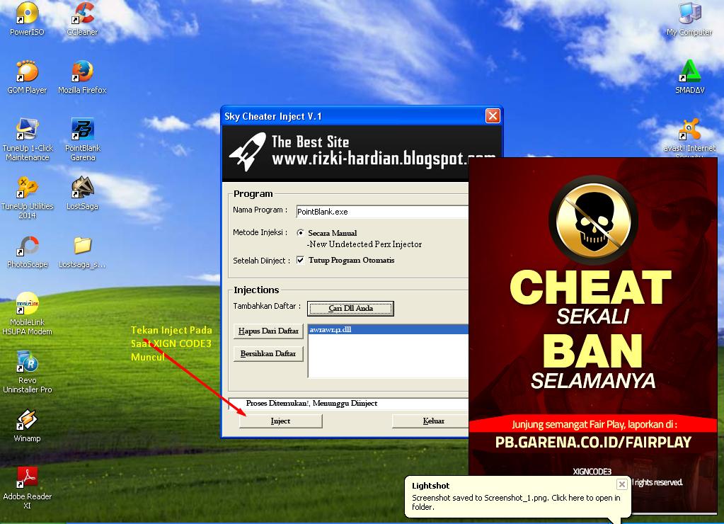 Cheat Point Blank Garena Indonesia 17 Oktober 2015 ~ Indo ...