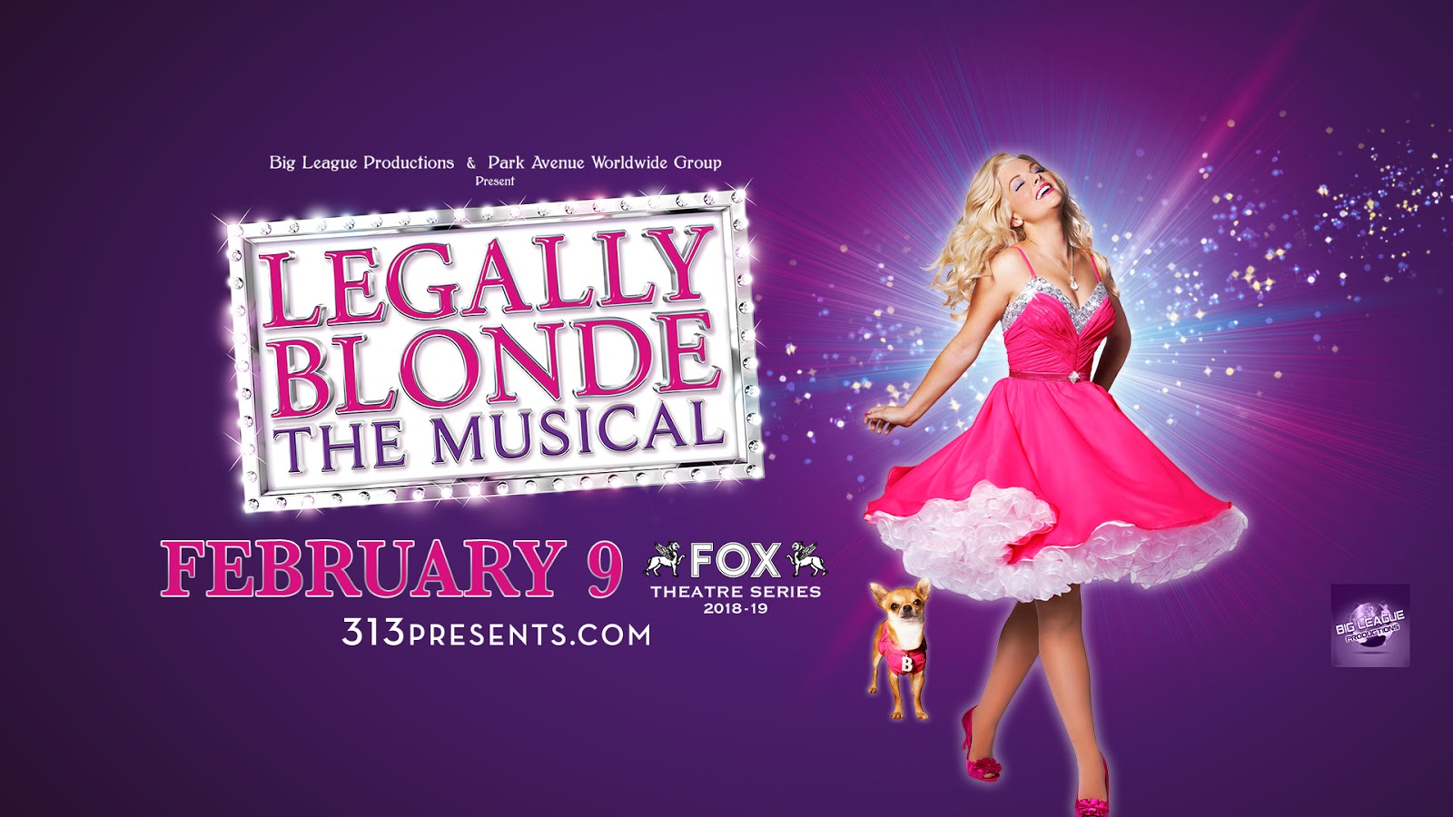 Upcoming and GIVEAWAY: Legally Blonde - The Musical, Feb. 9 at the Fox Theatre, Detroit {ends 1/14}