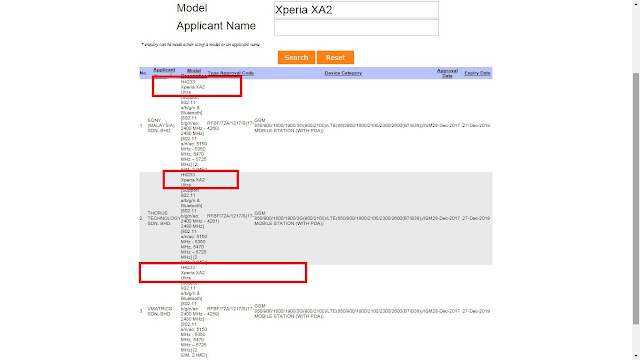 Sony Xperia XA2 Ultra - dadroidrd