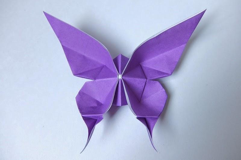 クリスマス 折り紙 折り紙 ちょうちょ 立体 : mahhonn.blogspot.com