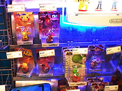 Pikachu Diddy Kong Pac-Man Charizard Yoshi Bowser amiibo Best Buy
