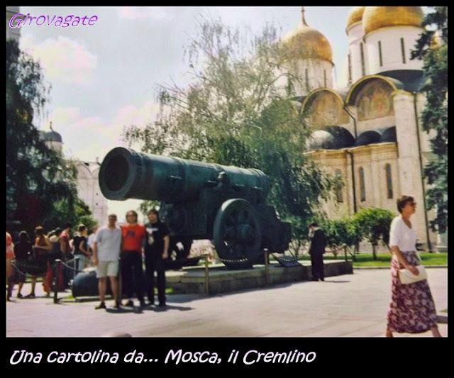 cannone zar Cremlino Mosca