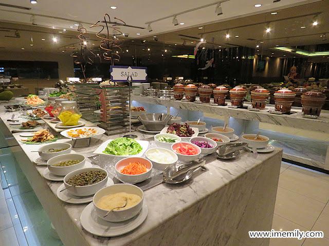 Salad counter Kembali Kitchen, Best Western PJ