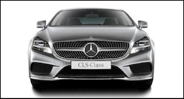 Cản trước Mercedes CLS 400 thiết kế thể thao với hốc gió lớn