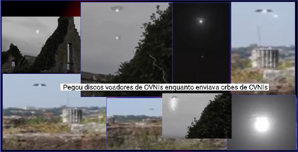e1fe069f154ea Misteriosas bolas de luz enviadas pelos discos voadores... estariam  colhendo alguma coisa da atmosfera ou do ambiente na onde eles se encontram