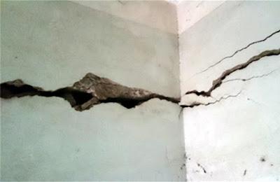 Vài gợi ý xử lý vết rạn nứt trên tường nhà