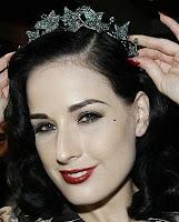 Emerald Ivy Tiara Boucheron Dita Von Teese