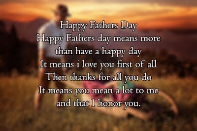 Short Father's Day Poems