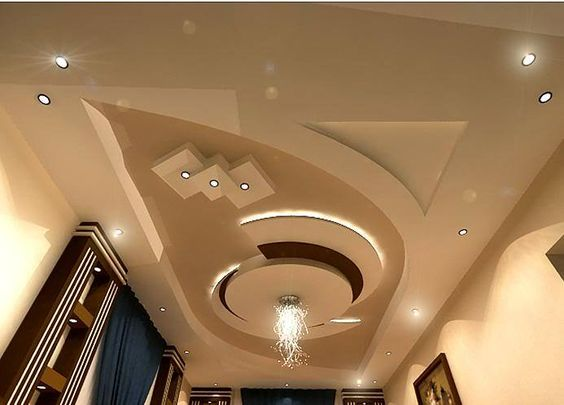 POP false ceiling designs: Latest 100 living room ceiling with LED lights  2020