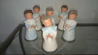Anjo de biscuit para batizado