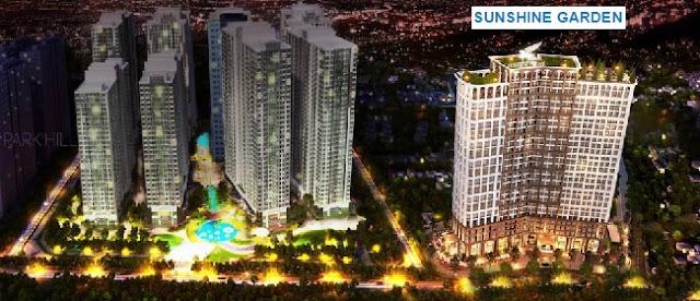 Quy hoạch Chung cư Sunshine Garden Vĩnh Tuy